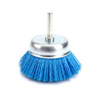 75mm Abrasive Nylon Wire Brush For Cleaning Rust Removal 240Grit Accessories