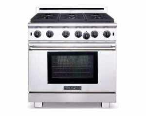 "American Range 36"" Pro Cuisine Sealed Burner Gas Range ARR636N"