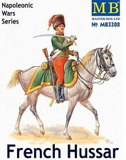 MODEL FIGURES Masterbox 1:32 - French Hussar, Napoleonic Wars Series