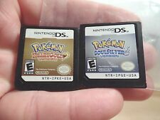 Pokemon: SoulSilver & HeartGold Versions (Nintendo DS, 2010) games only DS 3DS