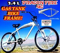 NEW 2019 PERFORMANCE 3.4 L TANK FRAME FOR 66cc/80cc 2-STROKE MOTORIZED BIKE KIT