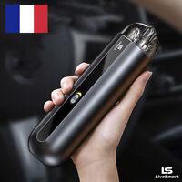 Mini Aspirateur Voiture Maison Sans Fil Aluminium 5000Pa Portable Voyage Durable