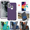 For Samsung Galaxy A10e A20 A20s Case Cover Armor With Glass Screen Protector