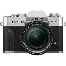 New Fujifilm X-T30 Mirrorless Digital Camera w/ 18-55mm Lens - Silver