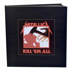 Metallica Kill Em All remastered super deluxe vinyl 3 LP 5CD DVD box set NEW/SEA