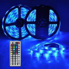10M 5050 RGB WIFI LED Soft Light Strip Ribbon Tape Lamp Wireless Controller P5O1