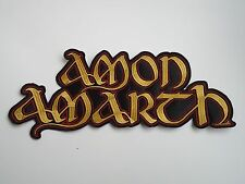 AMON AMARTH EMBROIDERED BACK PATCH