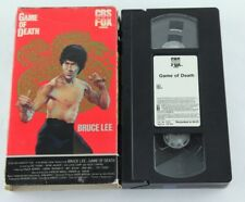 Bruce Lee Game Of Death VHS CBS Fox Video Kung Fu Chuck Norris
