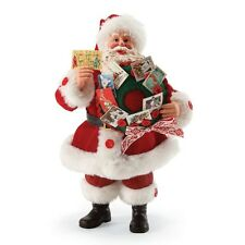 "Possible Dreams ""Season'S Greetings"" ~ Santa With Christmas Cards ~ Clothtique"