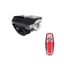 Niterider swift 350 + sabre 50 combo front & back usb rechargable bike light set