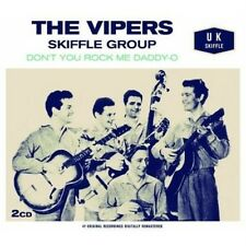 THE VIPERS SKIFFLE GROUP - DON'T YOU ROCK ME (NEW 2CD)