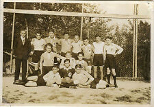 PHOTO ANCIENNE - VINTAGE SNAPSHOT- SPORT FOOTBALL ÉQUIPE JOUEURS FOOT - TEAM