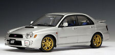 2001 SUBARU IMPREZA NEW AGE WRX STi SILVER AUTOart 1/18th Scale VERY LAST ONE