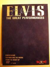 Elvis Presley The Great Performances DVD VELVET EDITION.