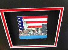 """John Suchy """" And Our Flag was Still There """" 3-D Art Signed & Numbered * Rizzi"""