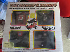 1980'S NIKKO THE BUGGY & BUGGY TWIN PACK RADIO CONTROLLED CARS 27MHZ & 40MHZ