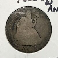 1853-O 50c SEATED LIBERTY HALF DOLLAR *VISIBLE DATE MINT MARK COIN* LOT#AG84