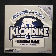 Klondike Bar The Original Game Family Party Challenges Made USA Complete