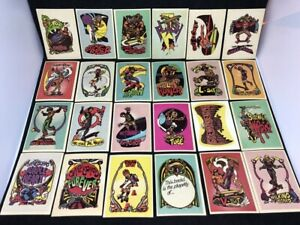 1976 Donruss Skateboard Trading Stickers - 24 out of 44 - 1970s artwork