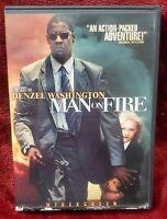 Man on Fire (DVD, 2004)