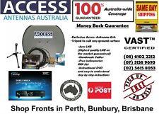 Ultimate Caravan Satellite TV Kit for 100% coverage Australia-wide - Same Day Sh