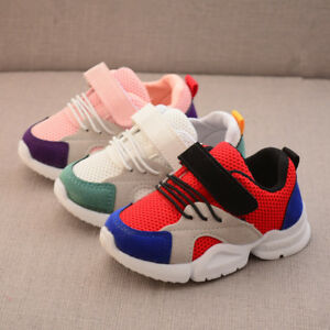 Baby Sneakers Toddler Boys Girls Mesh Sports Shoes Casual Shoes for Littler Kids
