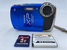 FUJIFILM FINEPIX XP20 WATER/SHOCK/DUST/FREEZE PROOF 14 MP DIGITAL CAMERA!