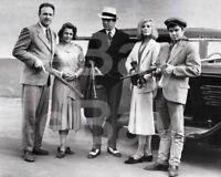 Bonnie and Clyde (1967) Gene Hackman, Warren Beatty, Faye Dunaway 10x8 Photo