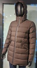 "HERNO Size 56 EUR(46 UK)Chest Measures 52"" Brown Puffer Coat Jacket+Hood RRP£675"