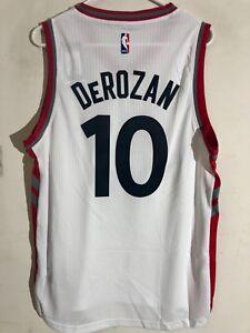 Adidas Swingman 2015-16 Jersey Toronto Raptors DeMar DeRozan White Alt sz S