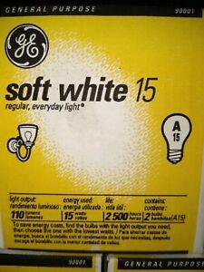 24 pack-GE Soft White 15A Light Bulbs