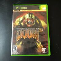 Doom 3 Video Game (Microsoft XBox Original, 2005) CIB & Tested