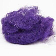 Sisal violet sac de 150 g Art Floral Floral Art Rustique Texture préservé Fibre