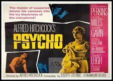Psycho 6  Horror Movie Posters Classic & Vintage Cinema