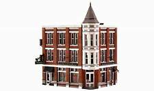 WOODLAND SCENICS BUILT & READY DAVENPORT DEPARTMENT STORE HO SCALE