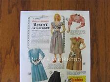 1948 Marilyn Maxwell Paper doll Set Repro