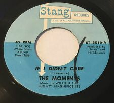 MOMENTS If I Didn't Care/You Make Me Feel Good 45 Stang