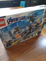 LEGO Captain America: Outriders Attack Super Heroes (76123) Avengers New