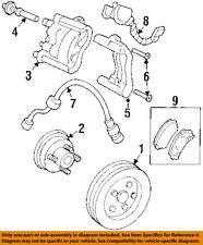 GM OEM Anti-lock Brakes-Speed Sensor 10456116