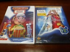 Disney DVD Movies (Pack Of 2) Including - The Sword In The Stone And Handy Manny