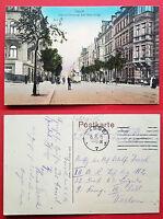 AK CASSEL Kassel 1916 Blick in die Hohenzollernstrasse mit Strassenbahn  ( 17232