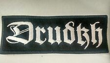DRUDKH EMBROIDERED PATCH Black Metal