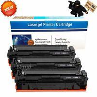 3Pk CF500X 202X Black Toner Cartridge for HP LaserJet Pro M254nw M281fdn M281fdw