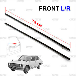 For Toyota Corolla KE20 TE21 1970 74 Lh+Rh Front Inner Weatherstrip Door Belt