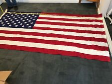 Vintage U.S. Flag - American Flag - Military Funeral Coffin Drape Flag - 1970's