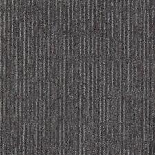 """EURO TILE Palace Obsidian 100% Nylon 19.7"""" x 19.7"""" Carpet Tile Squares"""