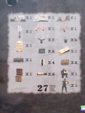 WW2 1:32 scale Diorama accessory set Forces of Valour 87101