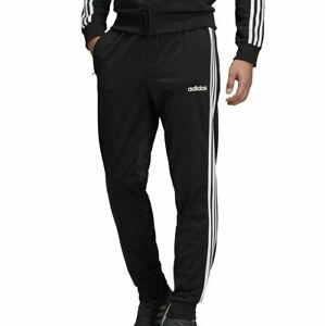 Mens Adidas Black Fleece Jogger Sweatpants Size XL NEW BK7409 3 Stripes Pants