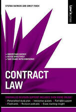 Contract Law (Law Express), Good Condition Book, Fafinski, Stefan, Finch, Emily,