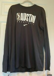 NBA G League Nike Austin Spurs Shirt Basketball NEW Mens L Tall $40 Christmas